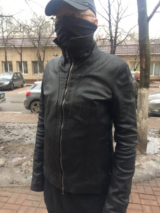 Julius Julius high collar Leather Jacket Size US L / EU 52-54 / 3 - 6