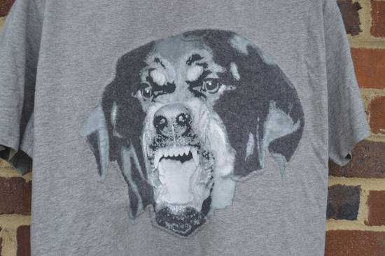 Givenchy Grey Felt Rottweiler T-shirt Size US XXS / EU 40 - 3
