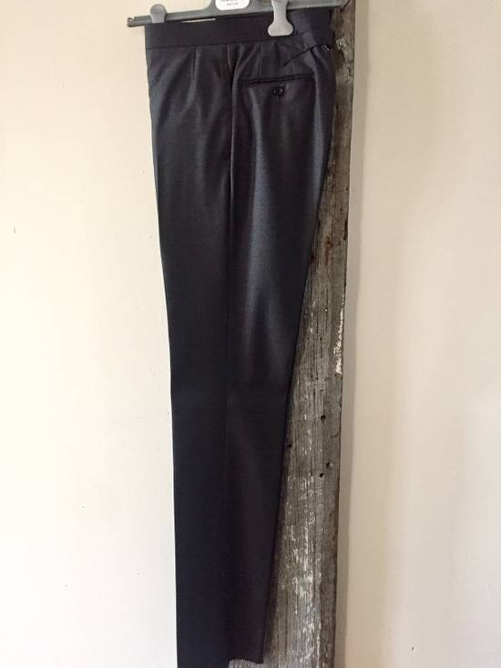 Thom Browne DARK GREY TWILL SUIT WITH TIE Size 36S - 4