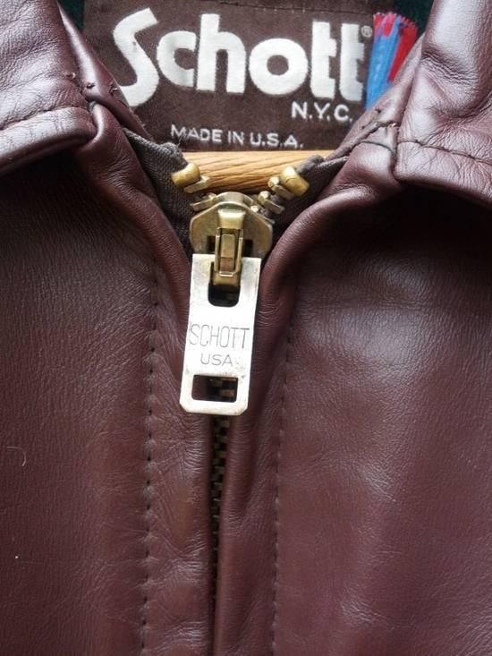 Schott SCHOTT 658 Leather Jacket Size US S / EU 44-46 / 1 - 5