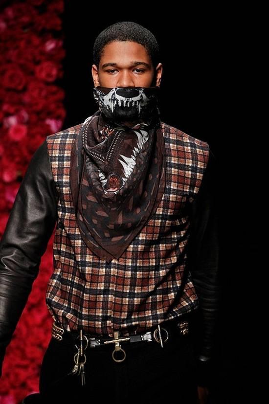 Givenchy AW11 leather plaid shirt Size US S / EU 44-46 / 1 - 1