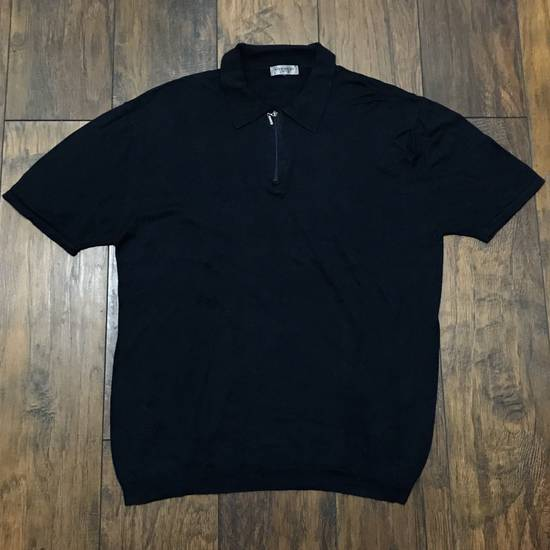 Givenchy 100% Authentic Givenchy Men Silk / Cashmere Blend Half Zip Polo Shirt Mens Size Medium Size US M / EU 48-50 / 2