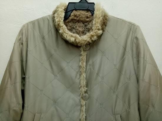 Balmain Vintage Balmain Paris Fur and Silk Reversible Jacket RARE Design Size US L / EU 52-54 / 3 - 7