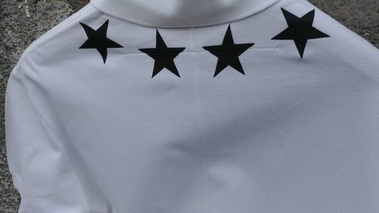 Givenchy Givenchy Star Print Extended Hem Rottweiler Shark Polo Shirt T-shirt size XS (S) Size US S / EU 44-46 / 1 - 7
