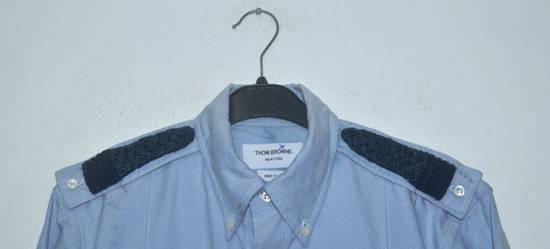 Thom Browne Thom Browne Blue Oxford slim fit Dress shirts Size US L / EU 52-54 / 3 - 5