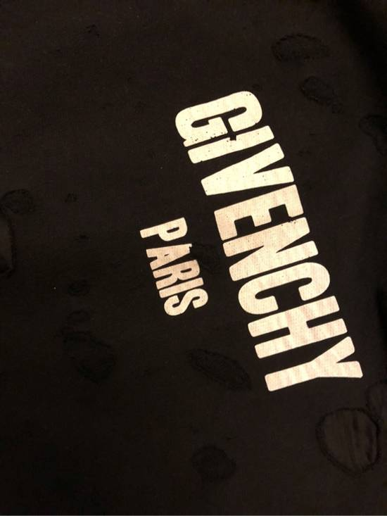 Givenchy Distressed Logo Print Hoodie Size US S / EU 44-46 / 1 - 3