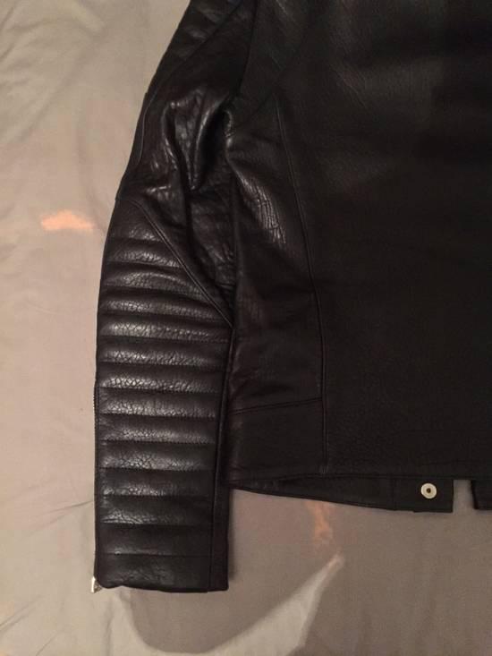 Balmain Leather Biker Jacket Lambskin Original SS12 Brand New Size US M / EU 48-50 / 2 - 16