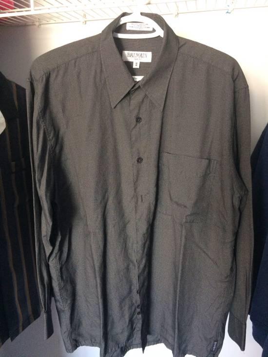 Balmain Vintage Grey Balmain Button Up Shirt Size US M / EU 48-50 / 2