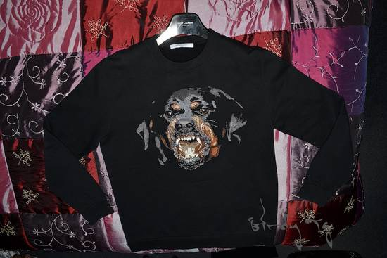 Givenchy Rare iteration Embroided Rotweiller Sweatshirt Size US L / EU 52-54 / 3 - 8