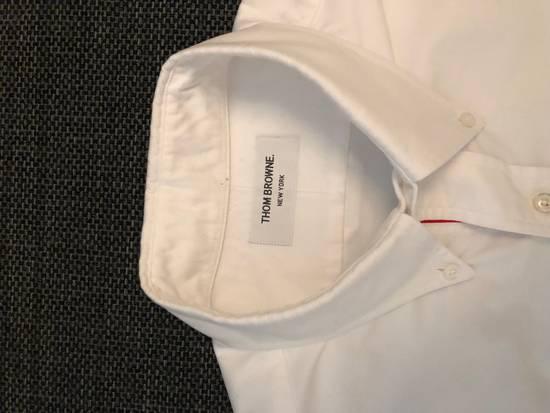 Thom Browne White Shirt Size US XL / EU 56 / 4 - 4