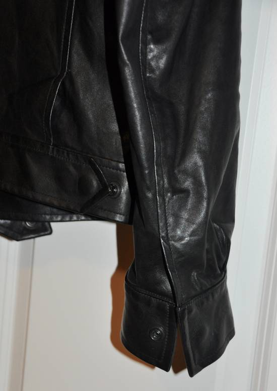 Balmain Black leather jacket Decarnin Size US M / EU 48-50 / 2 - 5