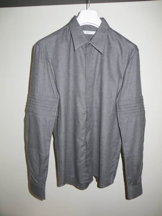 Givenchy FINAL PRICE! Grey flannel shirt Size US M / EU 48-50 / 2 - 1