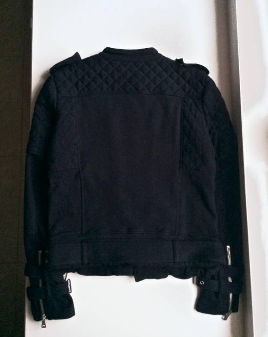 Balmain Balmain Black Quilted Biker Jacket Size US M / EU 48-50 / 2 - 1