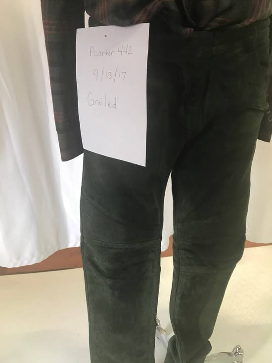 Balmain Balmain leather Suede pant Size US 32 / EU 48 - 9