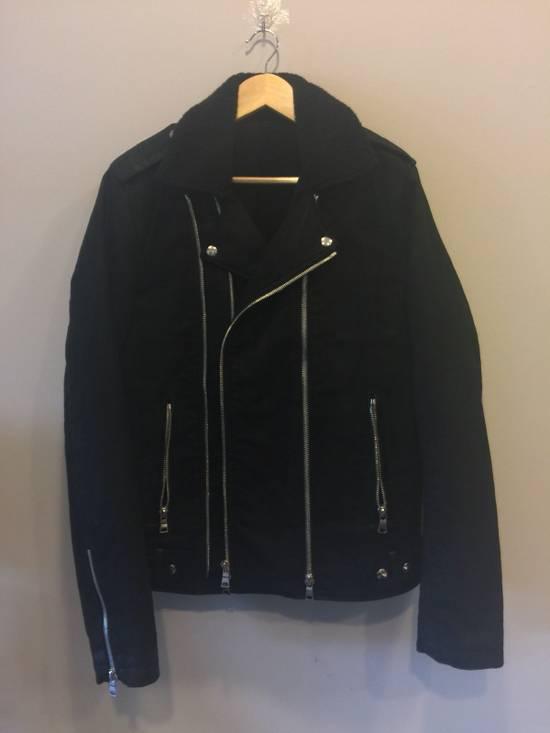 Balmain Shearling Rider Jacket Size US XL / EU 56 / 4