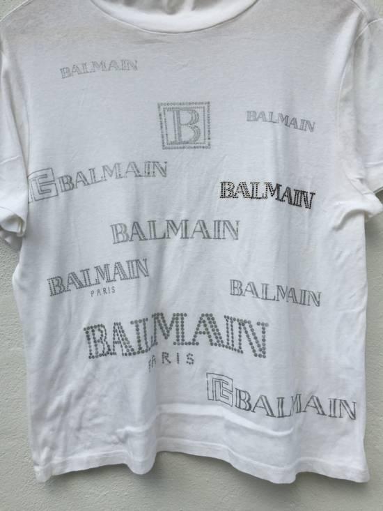 Balmain Vintage Balmain Script Logo Tshirt Size US S / EU 44-46 / 1 - 3