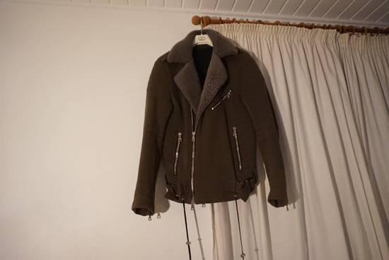 Balmain Balmain Kaki Green Shephard Coat Size US M / EU 48-50 / 2 - 1
