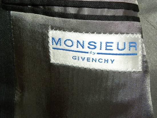 Givenchy Vintage Pin Striped Single Button Blazer Size 42R - 3