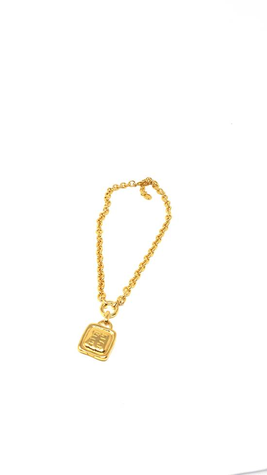 Givenchy Double sided gold plated necklace Size ONE SIZE - 5