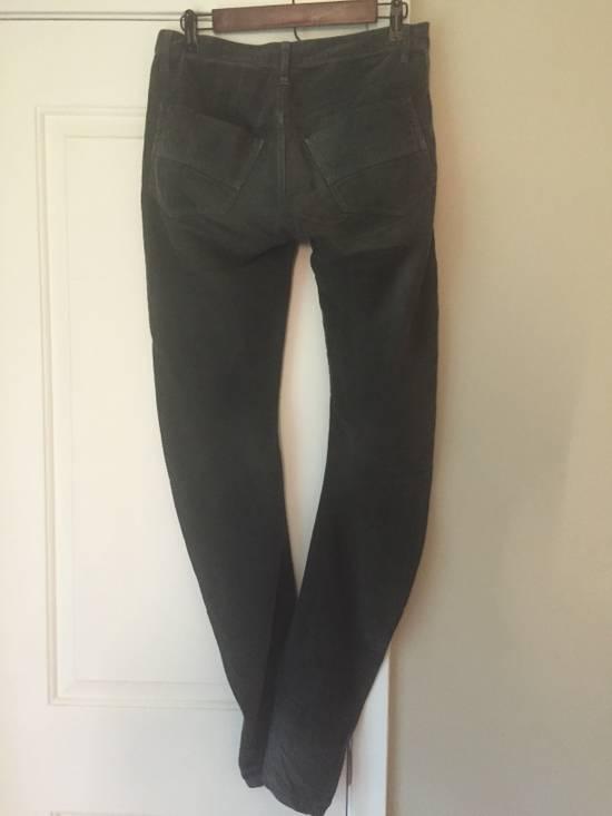 Julius FW07 Spiral Leg Corded Denim Size US 30 / EU 46 - 8