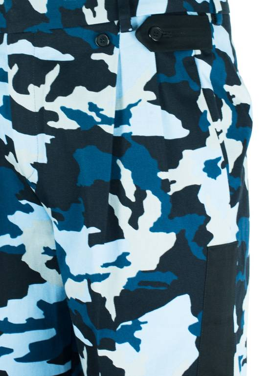 Givenchy Givenchy Men's Blue Cotton Camouflage Board Shorts Size US 36 / EU 52 - 1