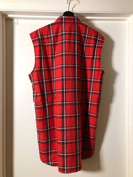 Givenchy Plaid sleeveless Shirt Size US L / EU 52-54 / 3 - 1