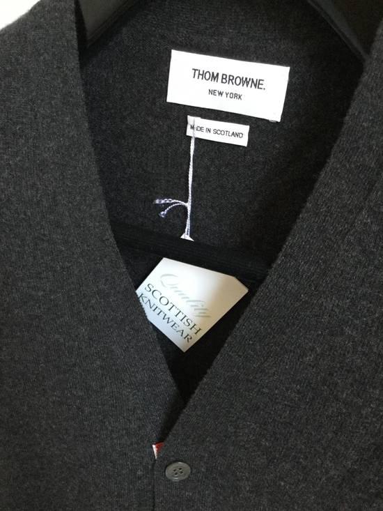 Thom Browne Brand New Cardigan Classic Dark Grey size 2 Size US M / EU 48-50 / 2 - 1