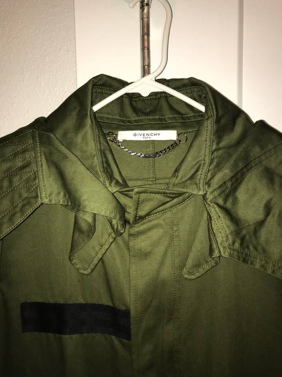 Givenchy Green Wings Print Parka Size US L / EU 52-54 / 3 - 2