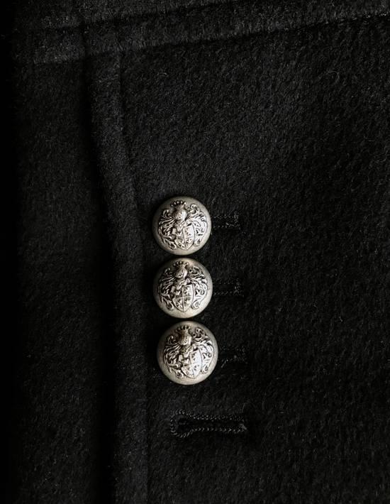 Balmain Balmain Black Wool Hooded Peacoat Size US L / EU 52-54 / 3 - 5