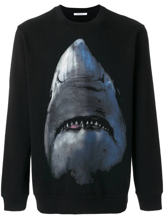 Givenchy Shark Print Sweater Size US S / EU 44-46 / 1 - 1