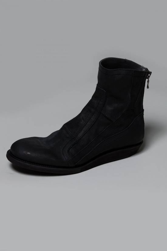 Julius SS12 [edge;] Cowhide Wedge-sole Back-zip Boots Size US 9 / EU 42 - 4