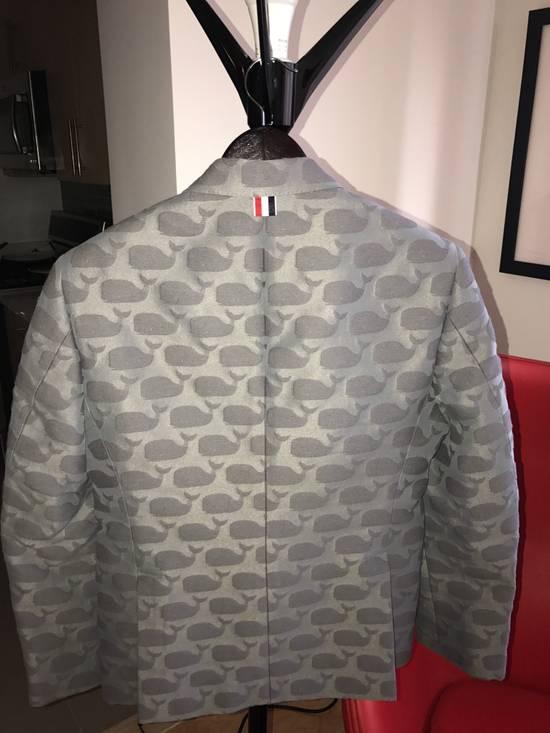 Thom Browne Whale Jacquard Jacket Size 2 Size 38S - 1