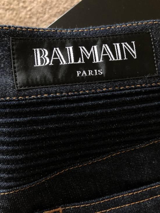Balmain Balmain Straight Biker Jeans Size US 30 / EU 46 - 4