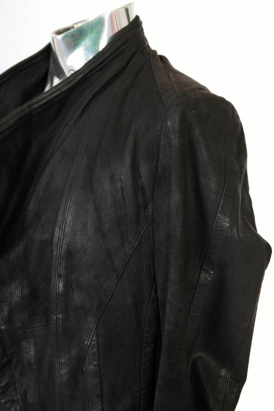 Julius Julius Dove Tail Leather Jacket EU46 Small Size 2 S/S 2012 Size US S / EU 44-46 / 1 - 4