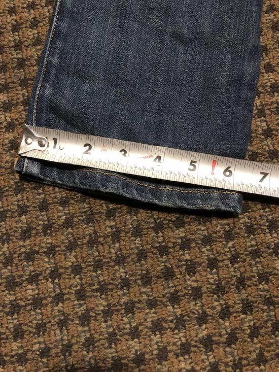 Balmain Balmain Geometric Quilted Paneled Biker Denim Jeans Size 32 Size US 32 / EU 48 - 9