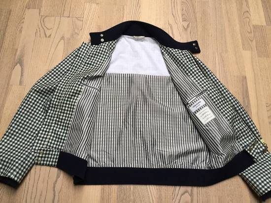 Thom Browne Gingham check wool/cashmere Harrington Jacket Size US S / EU 44-46 / 1 - 2