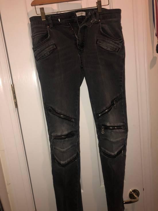 Balmain Balmain Biker Jeans Size US 31 - 1