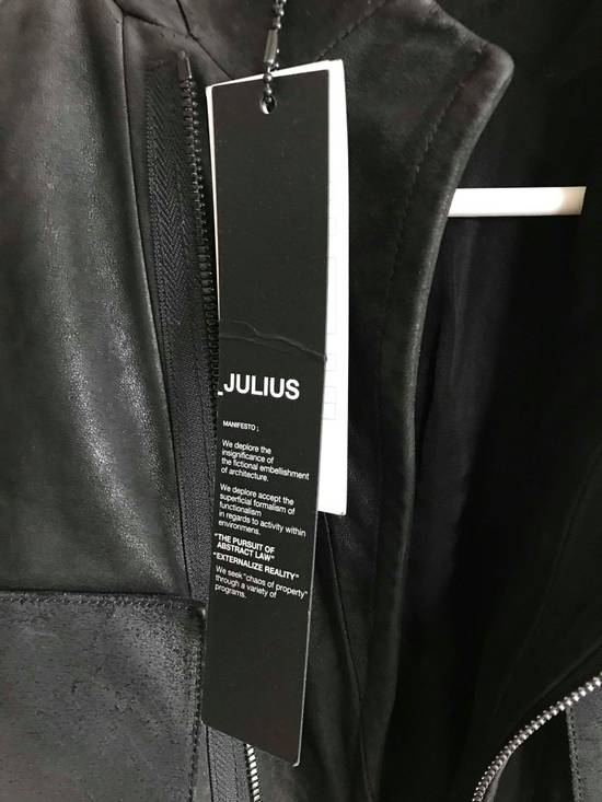 Julius julius_7 patchwork nubuck lambskin leather jacket Size US S / EU 44-46 / 1 - 5