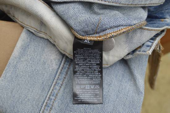 Balmain Light Blue Distressed Denim Jacket Size US XL / EU 56 / 4 - 7