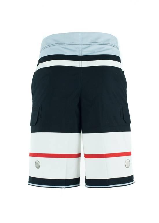 Givenchy Givenchy Men's Cotton Multi Color Striped Board Shorts Size US 36 / EU 52 - 2