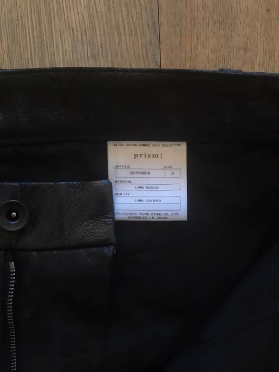 Julius Leather And Denim Pants Size US 32 / EU 48 - 2