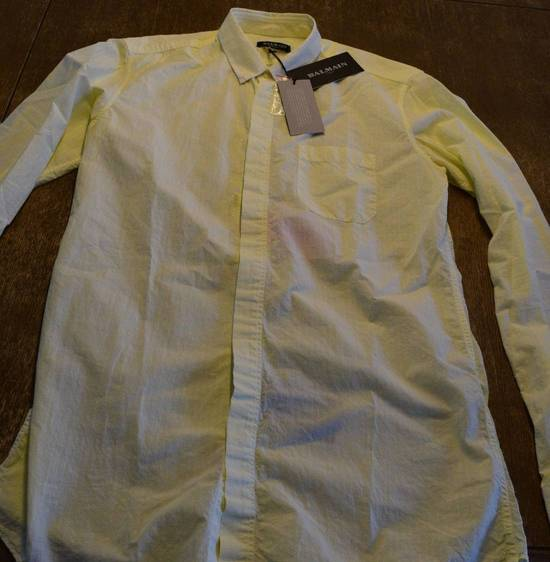 Balmain Balmain $590 Men's Casual Shirt Size 39 Brand New With Tags Size US M / EU 48-50 / 2