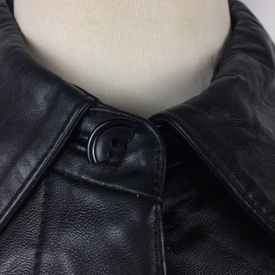 Balmain Mens BALMAIN Paris Leather PVC Jacket Coat Luxury Designer Size US M / EU 48-50 / 2 - 3
