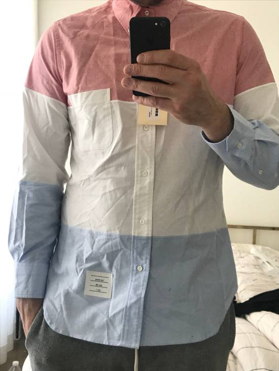 Thom Browne Three Panel Oxford Shirt (Brand New) Size US XXL / EU 58 / 5 - 3