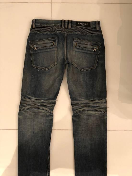 Balmain Biker Jeans Size 31 Size US 31 - 4