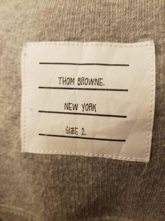 Thom Browne Grey Thom Browne Zip Up Hoodie Size 2 (Medium) Size US M / EU 48-50 / 2 - 3