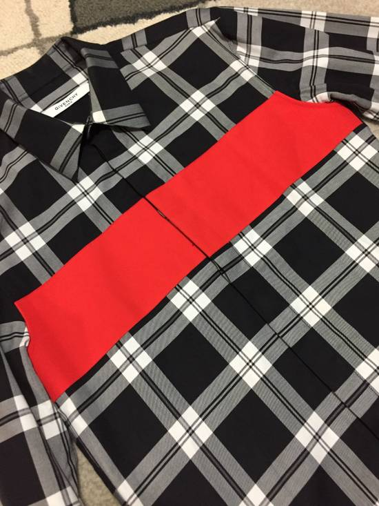 Givenchy Red block button up shirt Size US M / EU 48-50 / 2 - 2