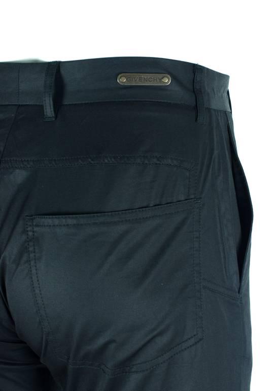 Givenchy Givenchy Men's Classic Black 100% Cotton Trousers Size US 32 / EU 48 - 2