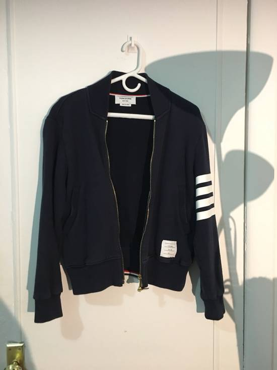 Thom Browne Thom Browne Navy Bomber Size S Size US S / EU 44-46 / 1