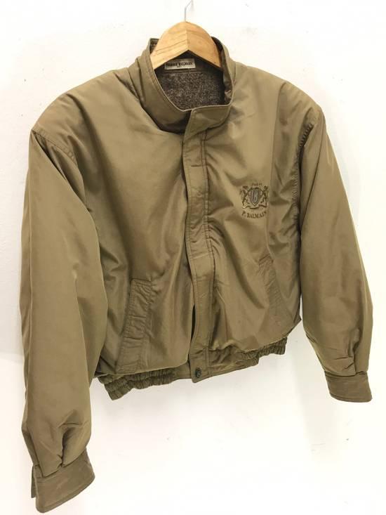Balmain Pierre Balmain Paris 90s Cropped Jacket With Wool Lining Made in Japan Size US M / EU 48-50 / 2 - 1